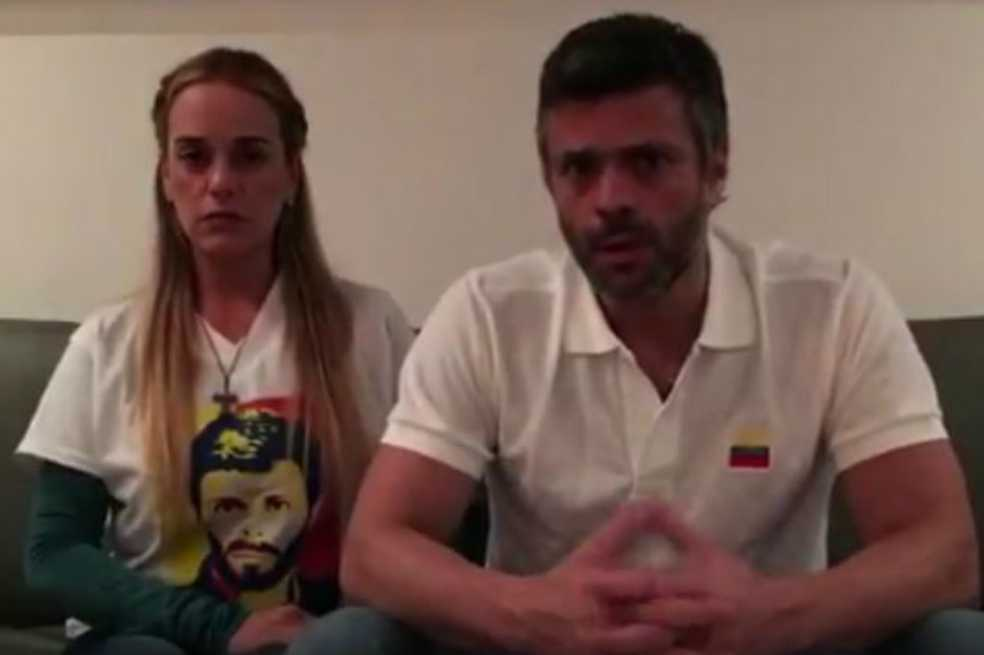 «Si usted está viendo este video es porque me volvieron a llevar preso»: Leopoldo López
