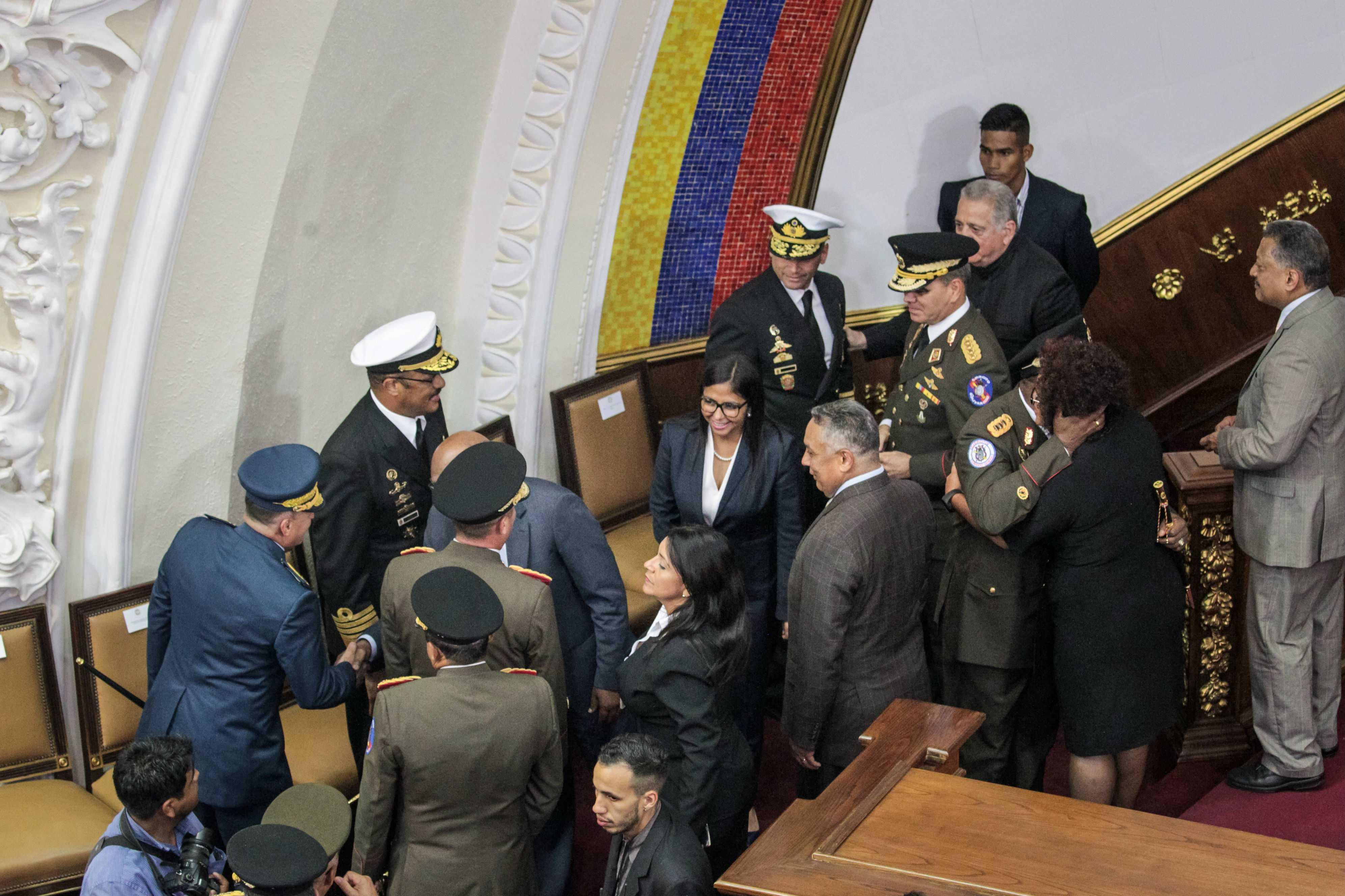 Asamblea Nacional Constituyente selló respaldo de militares venezolanos