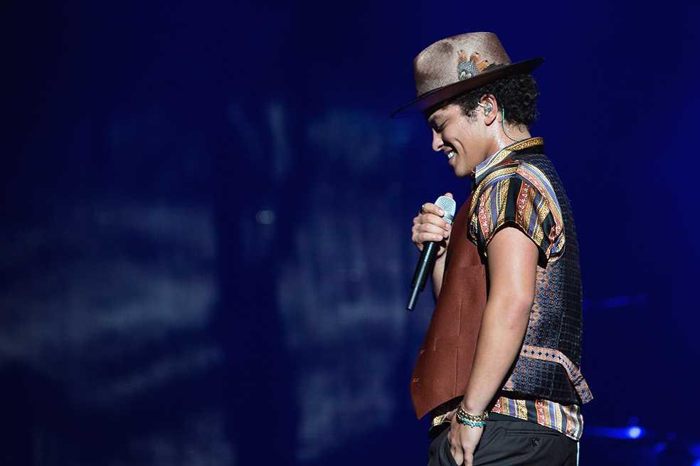 Concierto de Bruno Mars en Colombia será el 5 de diciembre