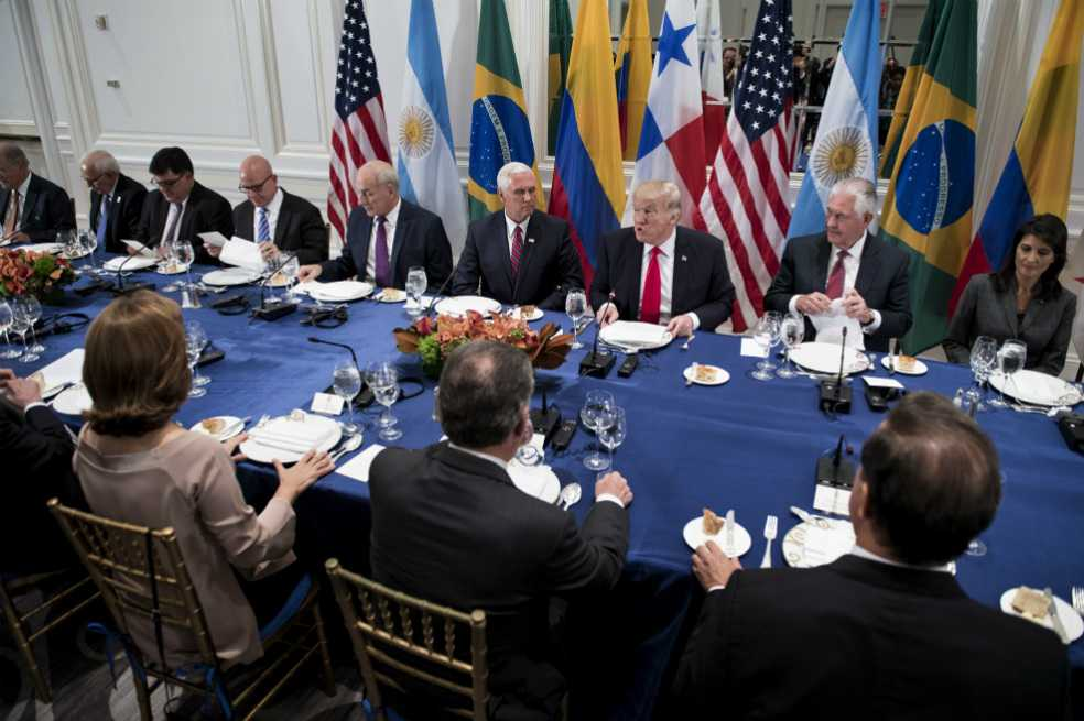 Venezuela señala a Trump y mandatarios de la región de amenazar su soberanía