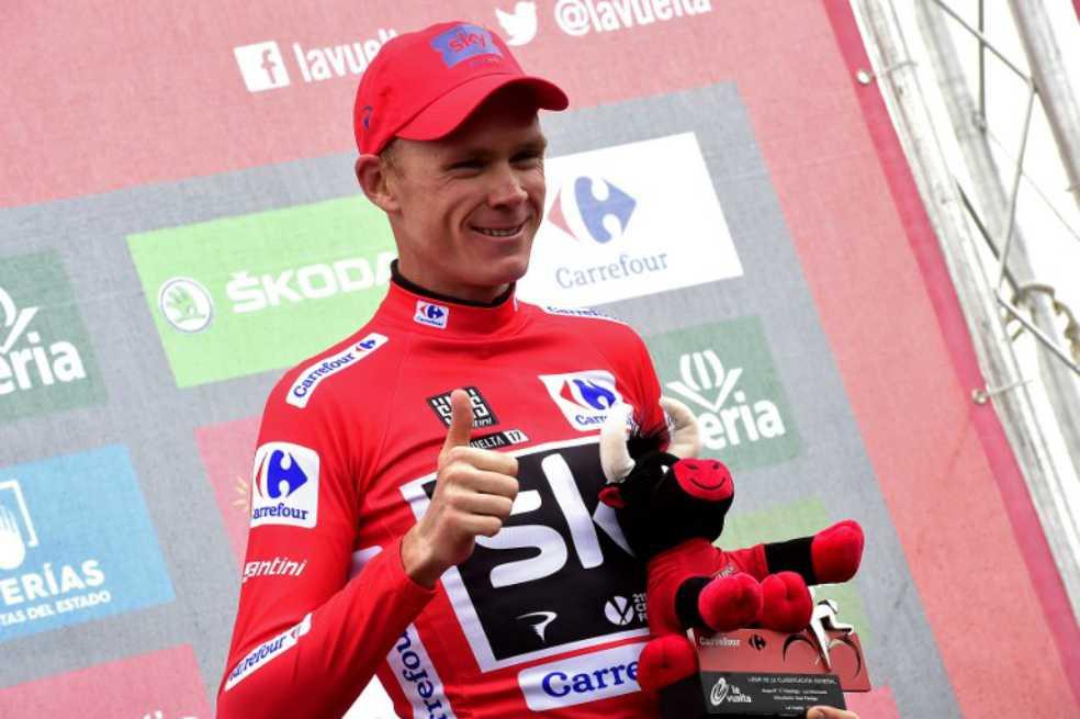 Froome amplia ventaja sobre Nibali y acaricia título de la Vuelta a España