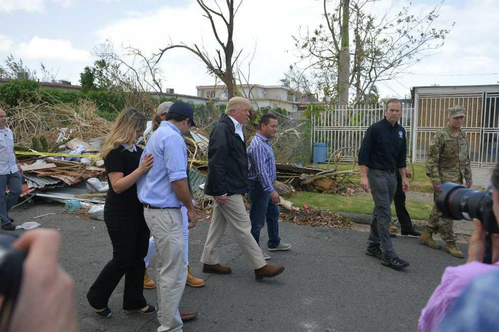 Según Trump, Puerto Rico no vive una «catástrofe real» como la de Katrina