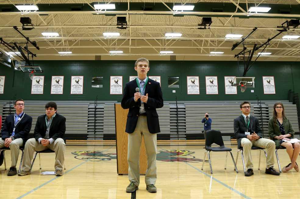 Los cinco adolescentes que buscan puesto de gobernador en EE.UU.