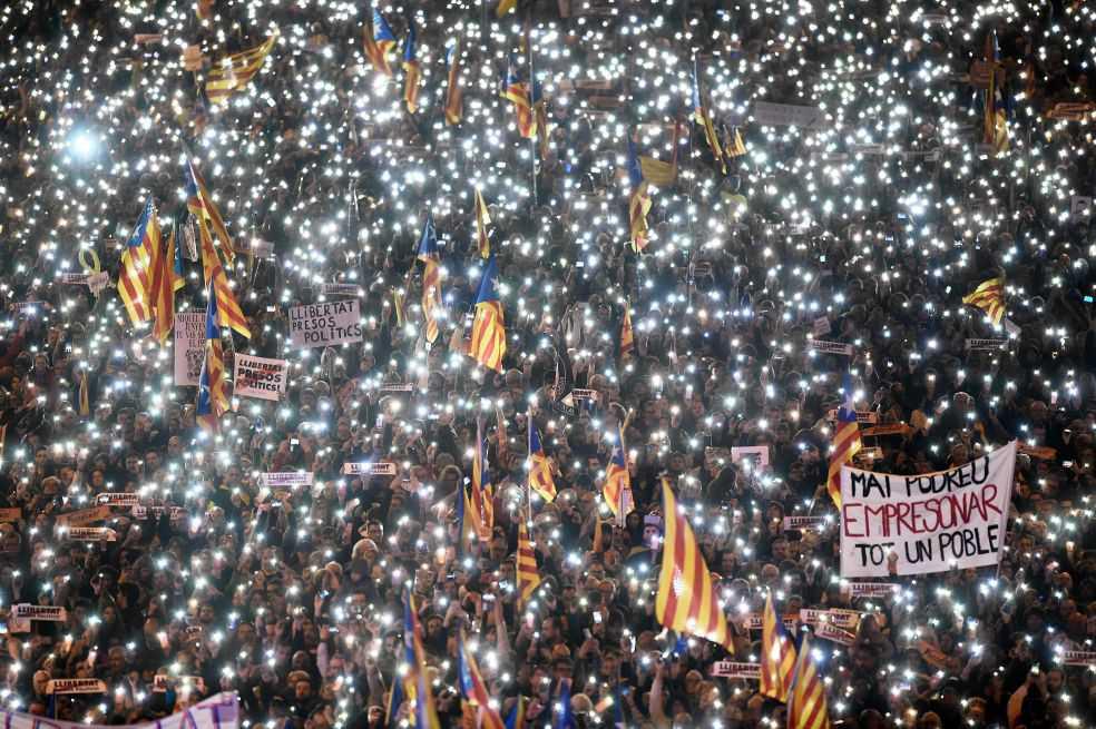 El nacionalismo catalán y español
