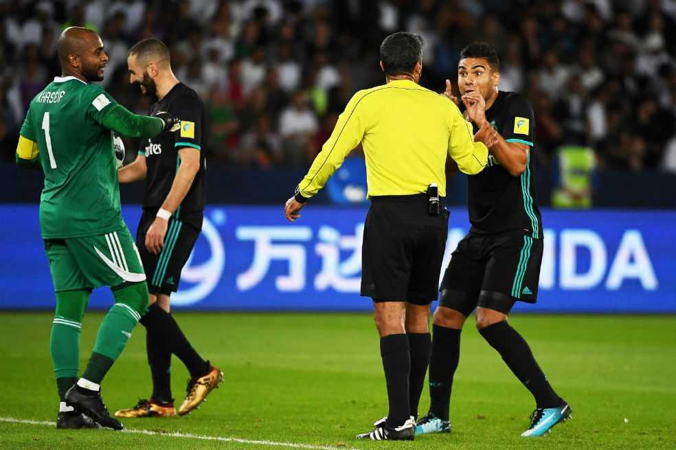 El videoarbitraje, protagonista en el partido entre Real Madrid y Al Jazira