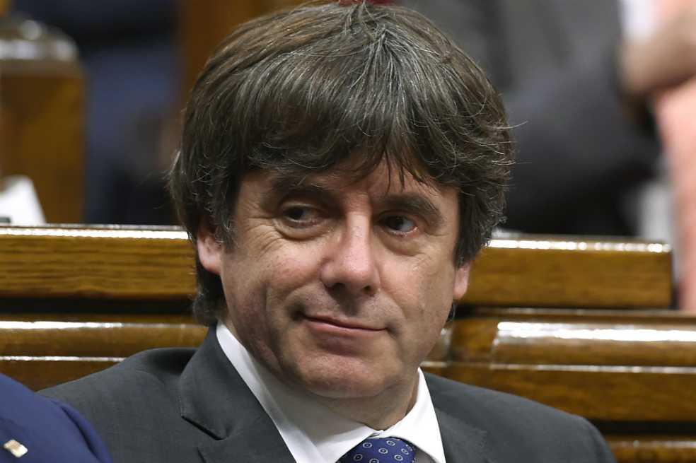 España retira la orden de detención europea contra Puigdemont