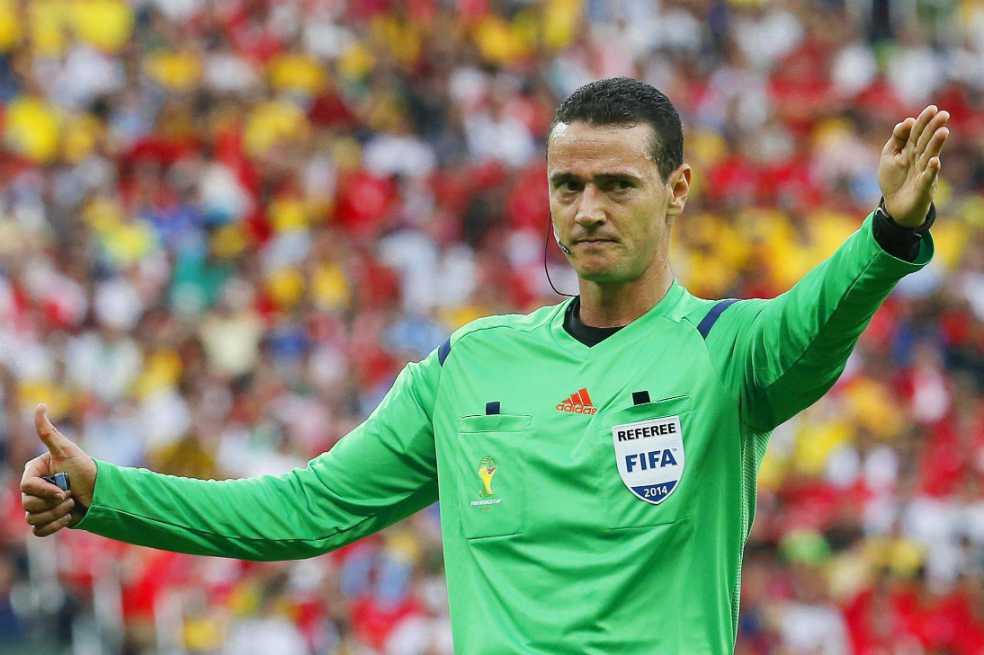 Wilmar Roldán, catalogado como uno de los mejores árbitros del mundo