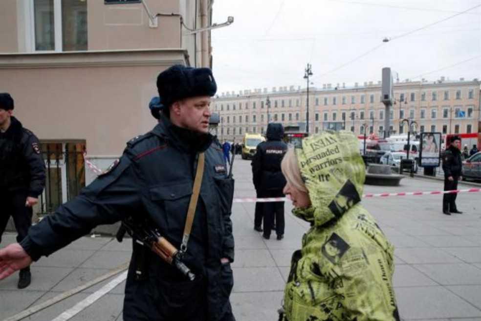 Explosión de bomba en supermercado de San Petersburgo deja varios heridos