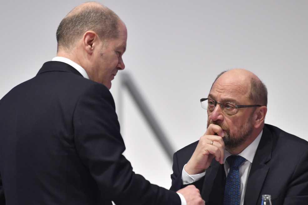 Jefe de los socialdemócratas alemanes quiere reconciliarse con Merkel