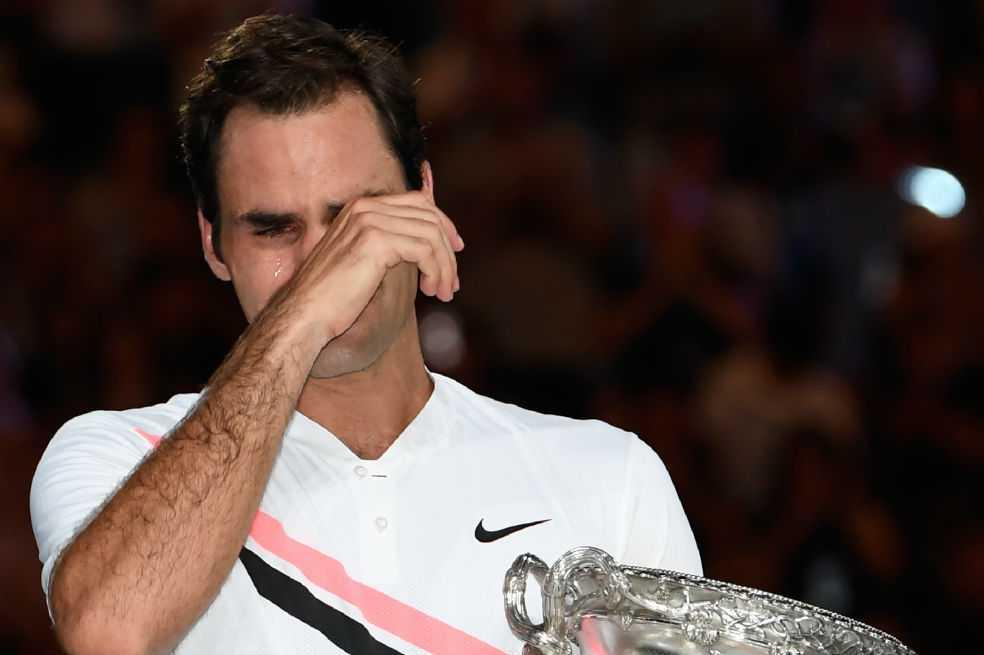 Roger Federer, las lágrimas de un eterno campeón