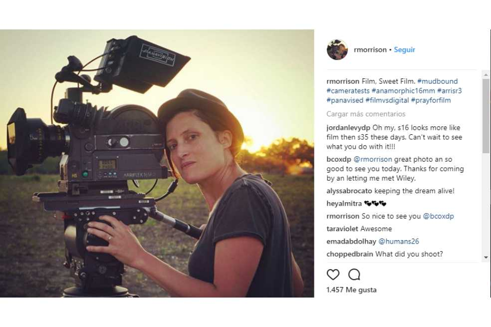 """Rachel Morrison, la primera mujer en la historia en ser nominada al Óscar a """"Mejor fotografía"""""""