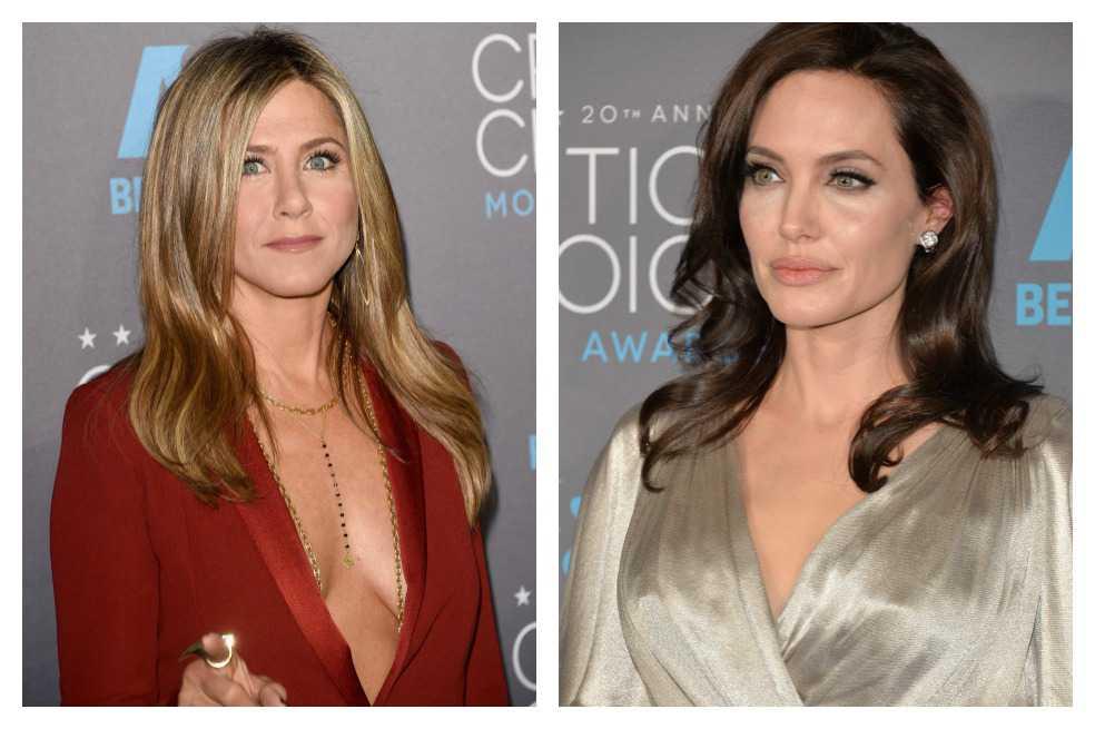 Jennifer Aniston y Angelina Jolie: el esperado cara a cara será en los Globo de Oro 2018