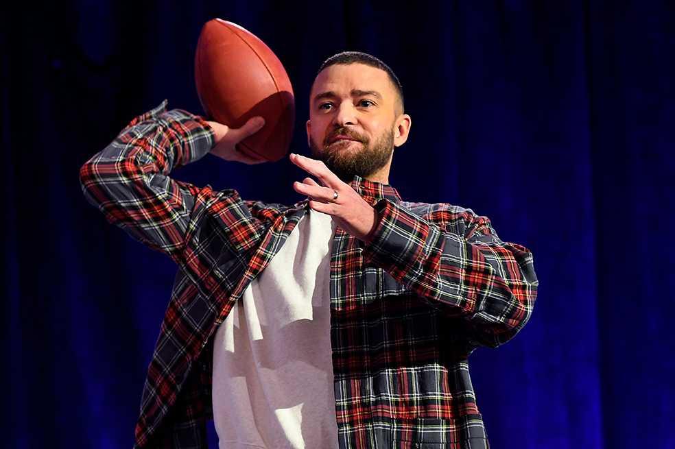 'Haremos en este Super Bowl algunas cosas que no se han hecho nunca': Justin Timberlake