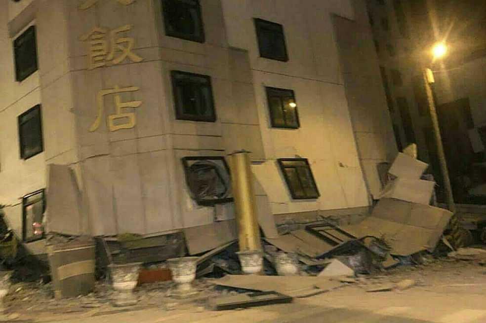 Terremoto de magnitud 6,4 sacude isla de Taiwán