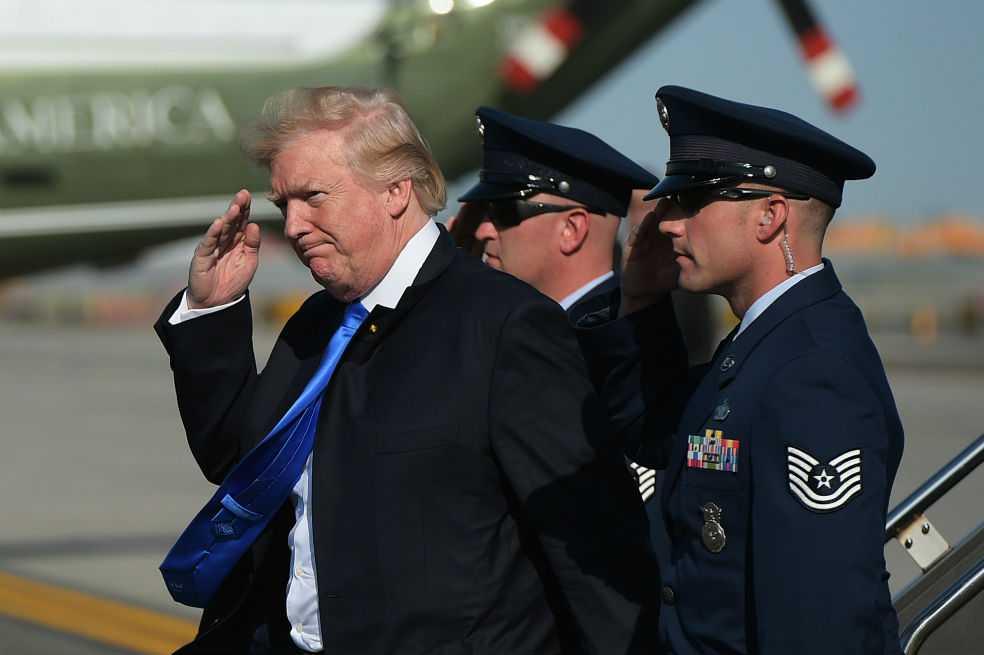 ¿Para qué quiere Trump organizar un desfile militar?