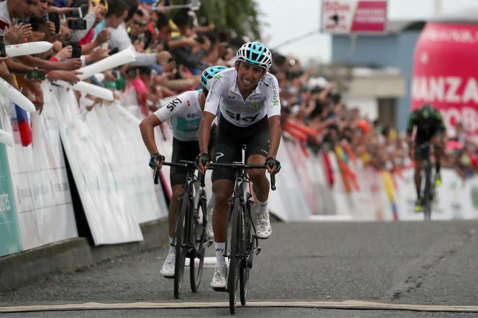 Egan Bernal, cuarto en la segunda etapa de la Vuelta a Cataluña