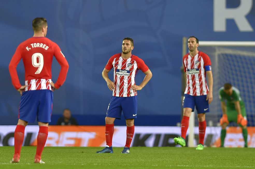 Atlético de Madrid tropieza frente a la Real Sociedad