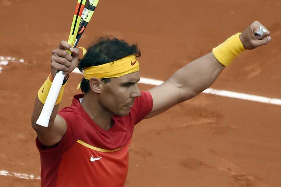 Rafael Nadal hace historia en la Copa Davis