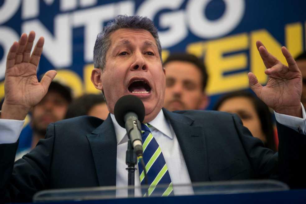 Después de perder contra Maduro, Henry Falcón impugna las elecciones de Venezuela