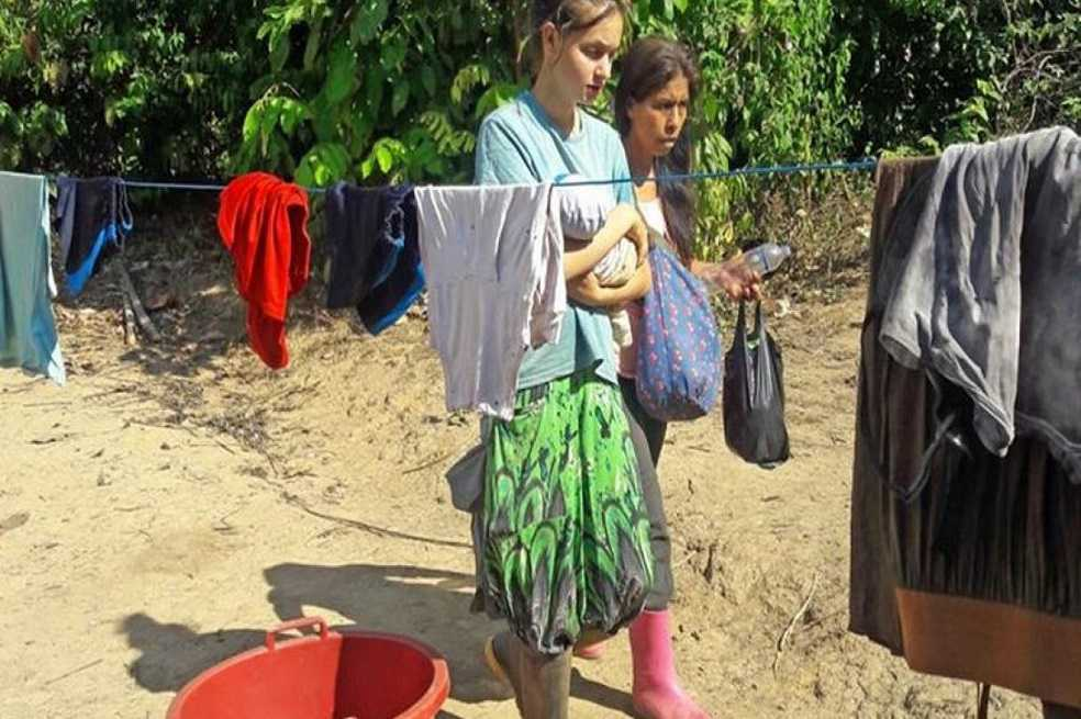 Española desaparecida fue rescatada en selva de Perú con una supuesta secta