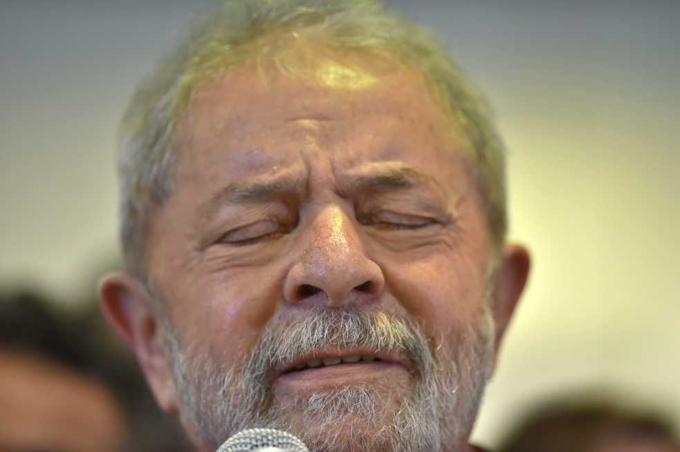 Juez de la investigación Lava Jato revoca libertad de Lula da Silva en Brasil