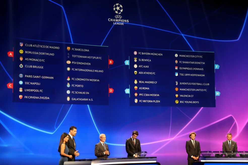 Definidos los grupos de la Champions: Falcao se reencuentra con el Atlético