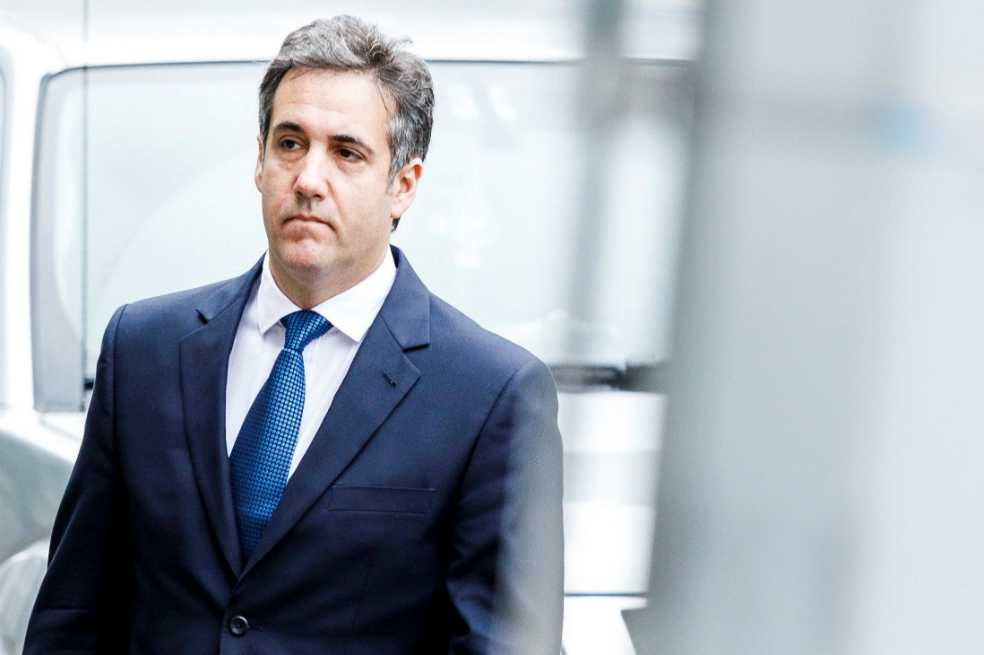 Michael Cohen, exabogado de Trump, se entrega al FBI
