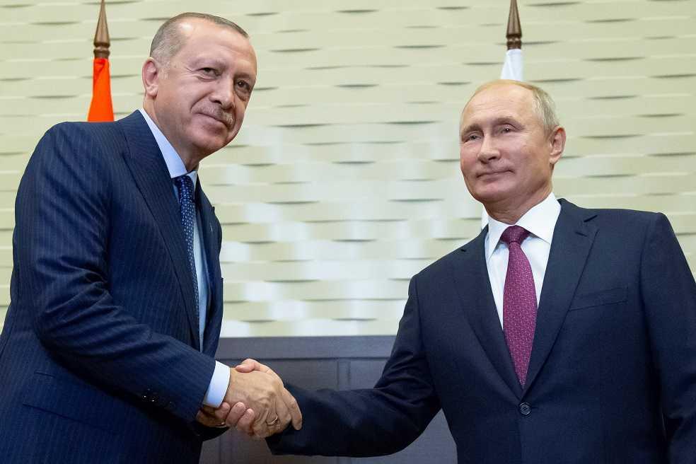 Putin y Erdogan acuerdan crear zona desmilitarizada en Idlib