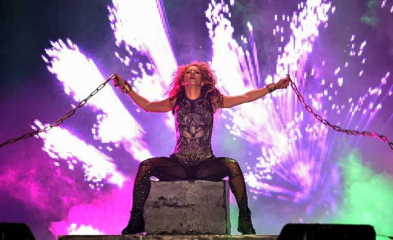Shakira llegó a Latinoamérica con su gira «El Dorado»