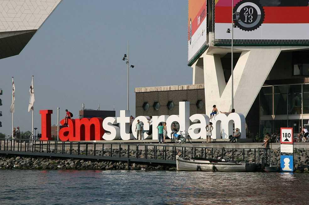 ¿Desaparecerá el famoso letrero de I Amsterdam?