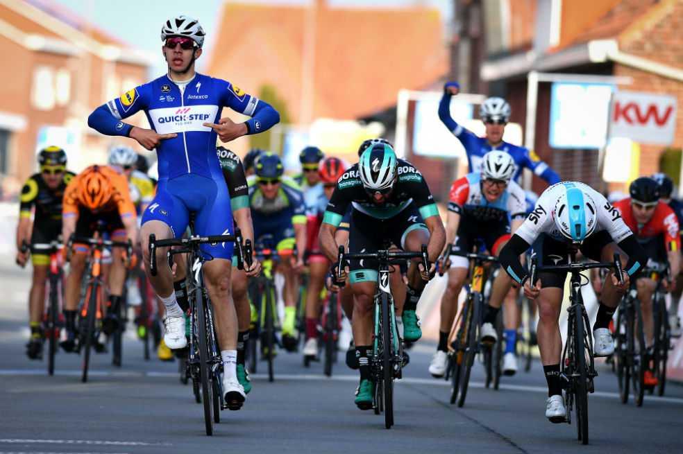 Álvaro Hodeg, segundo en la segunda etapa del Tour de Turquía