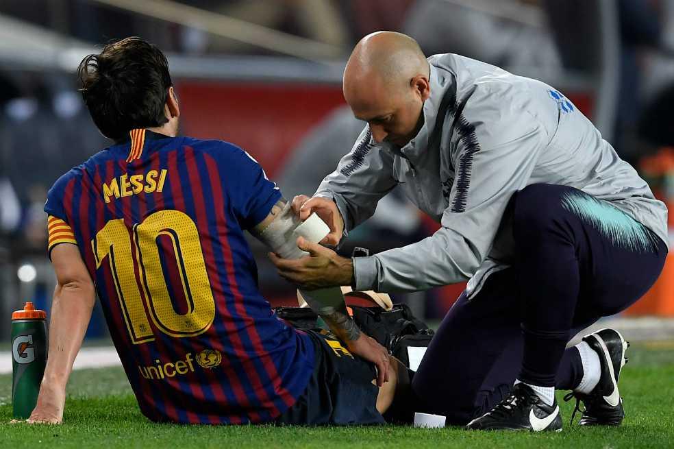 Messi ya comenzó su recuperación