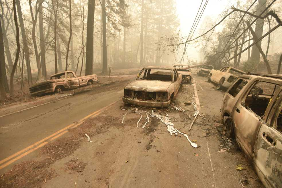 Paradise, de paraíso en California a ciudad fantasma
