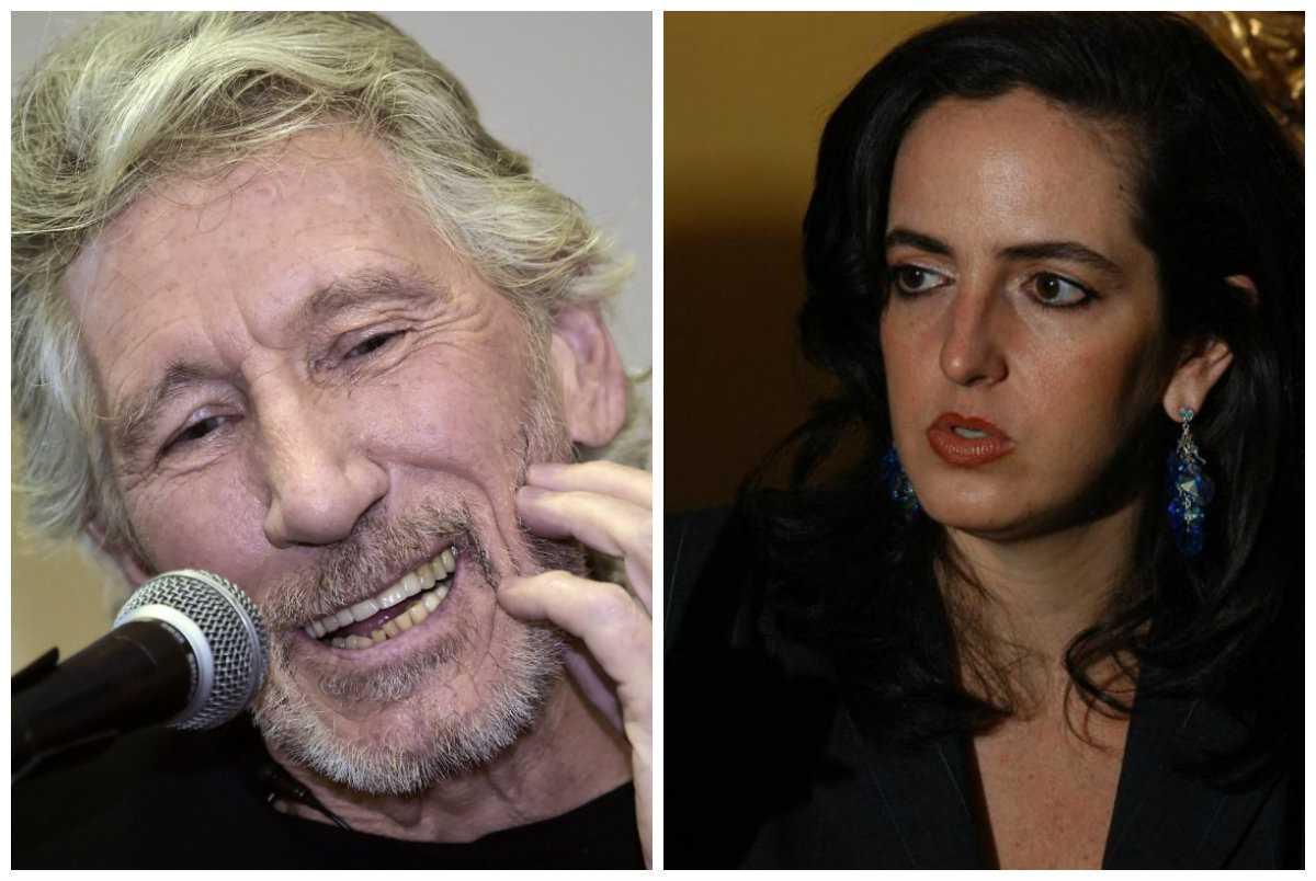 Roger Waters mostró apoyo a los estudiantes y María Fernanda Cabal lo controvirtió