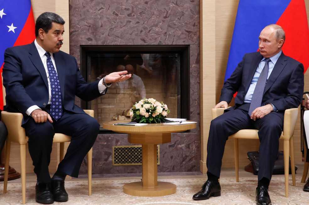 Putin promete apoyo a Maduro durante reunión en Rusia
