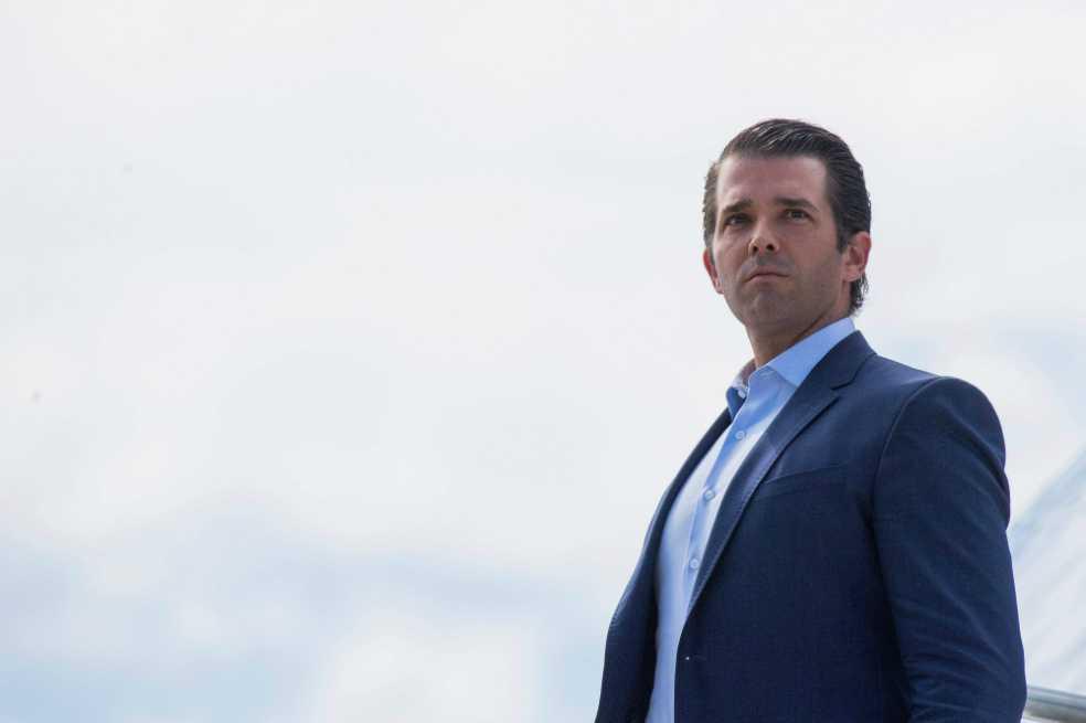 """Hijo mayor de Trump defiende los muros porque estos """"funcionan"""" en los zoológicos"""
