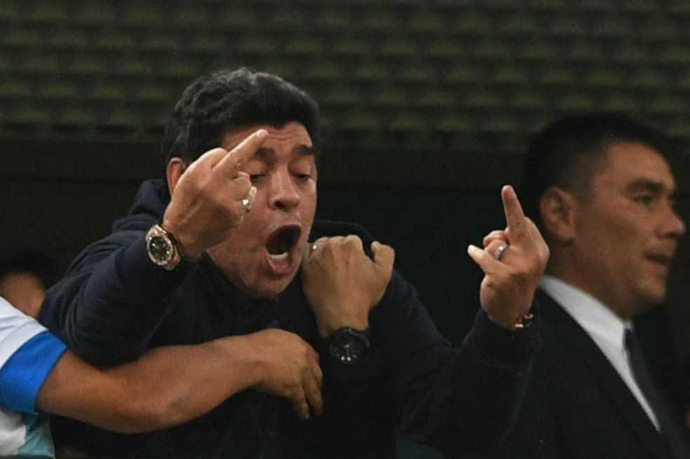 El 'Sueño Bendito': comenzó grabación de serie sobre Maradona