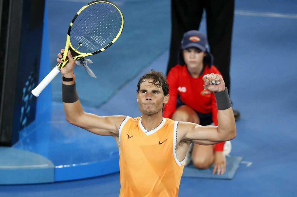 Nadal ganó y avanzó a octavos en el Abierto de Australia