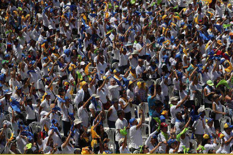 Los voluntarios de Guaidó que ponen en jaque a Maduro