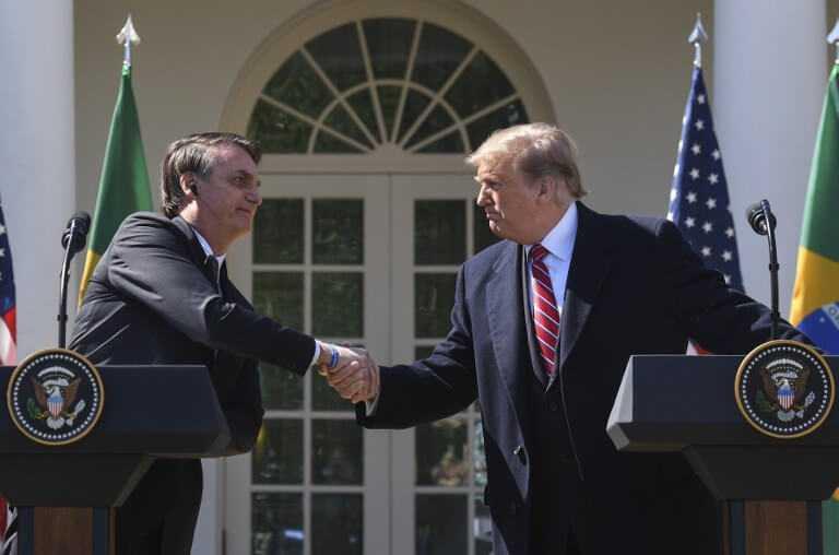 «Tenemos muchos valores en común»: Bolsonaro tras reunión con Trump