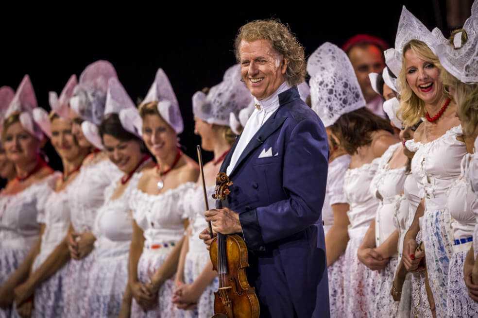 El violinista holandés André Rieu se presentará por primera vez en Colombia