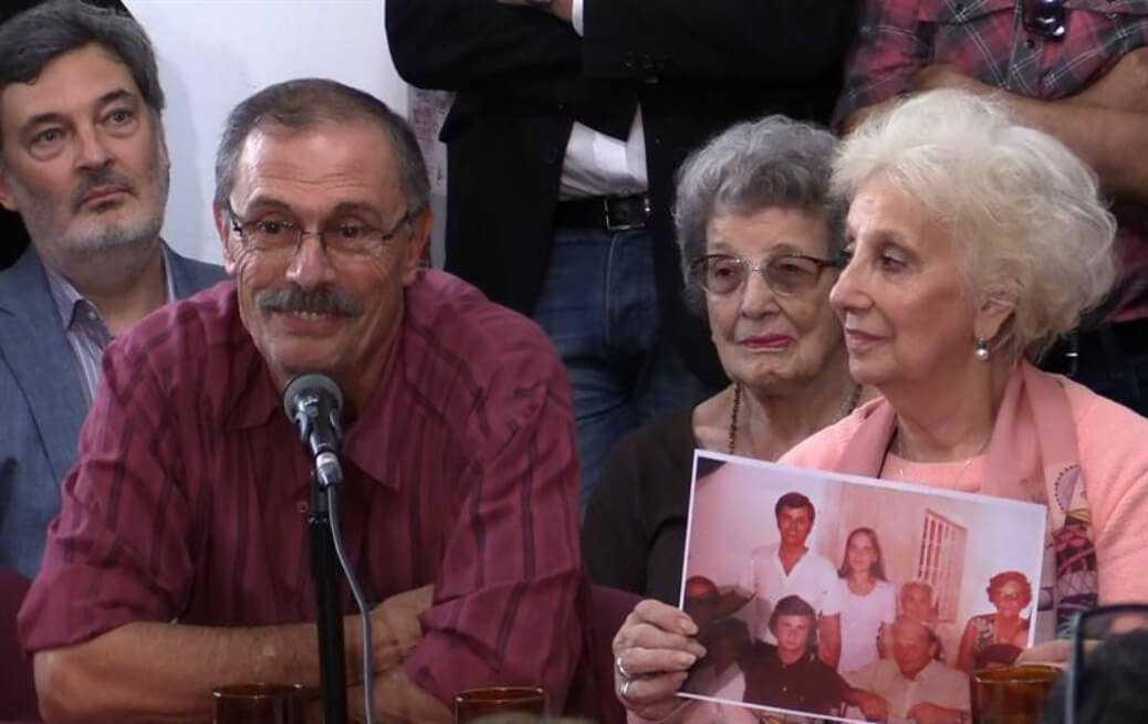 Así encontraron Abuelas de Plaza de Mayo a la nieta 129 desaparecida en la dictadura Argentina