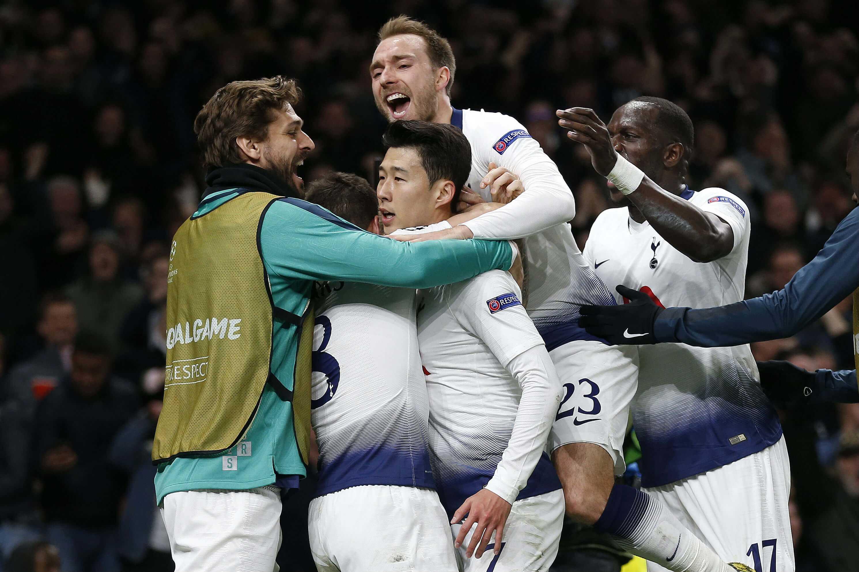Son Heung-Min le dio la victoria a Tottenham sobre Manchester City