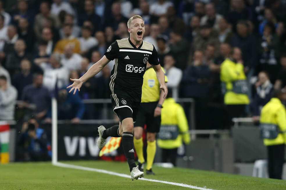 Ajax sorprendió a Tottenham y sueña con la final de Champions