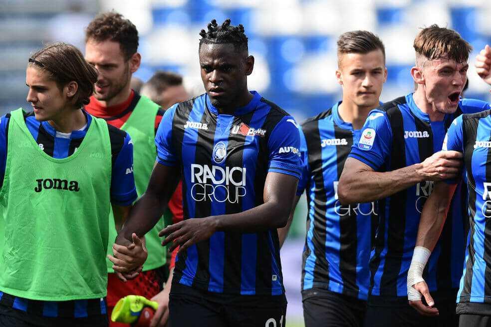 No pudo celebrar Duván Zapata: Lazio se coronó campeón de la Copa de Italia
