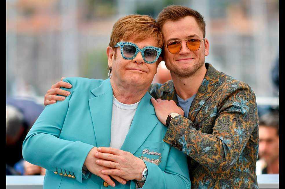Rusia censura escenas del filme sobre Elton John por contenido homosexual