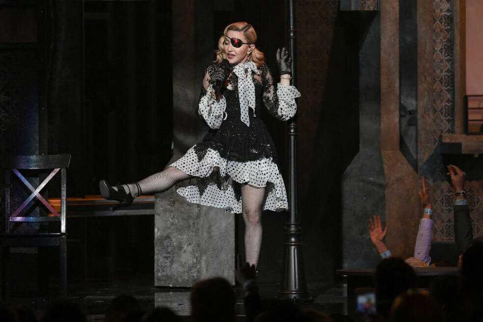 Madonna cambia los estadios por los teatros para su próxima gira