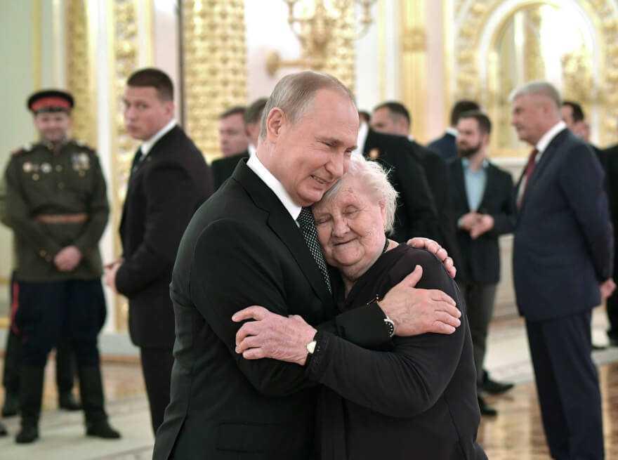 La mujer más influyente en la vida de Vladimir Putin