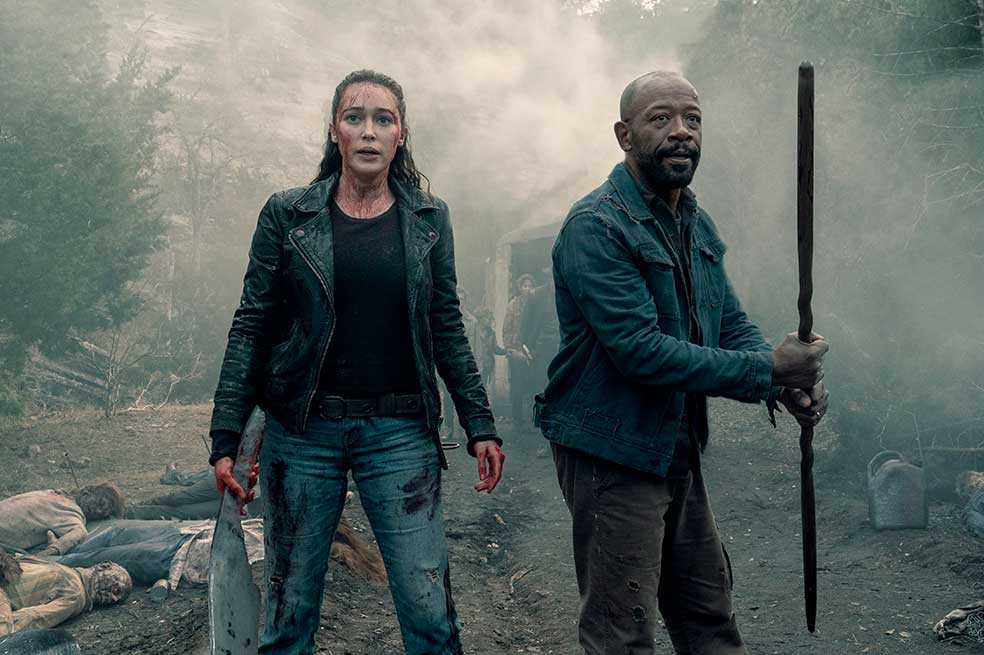"""Fear the walking dead"" estrena quinta temporada en Latinoamérica"