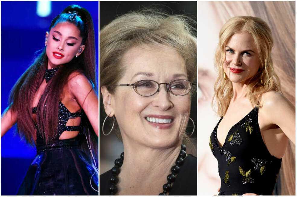 Ariana Grande, Meryl Streep y Nicole Kidman encabezarán un musical de Netflix